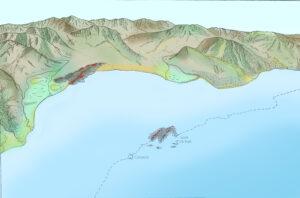 Costa ionica 300 mila anni fa -Kieffer 1973