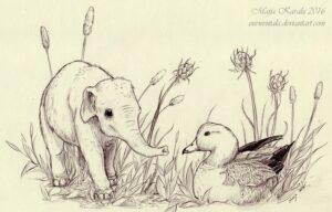 Cucciolo di Palaeoloxodon