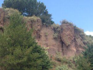Resti di valanghe ardenti dell'Ellittico a Montalto