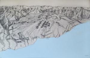 Ricostruzione attivit… area Val Calanna- Kieffer 1973