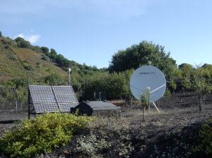 Stazione digitale di rilevamento sismico nella sede del Parco