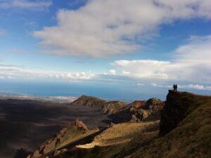 Vista Panoramica dell'Etna sulla Valle del Bove